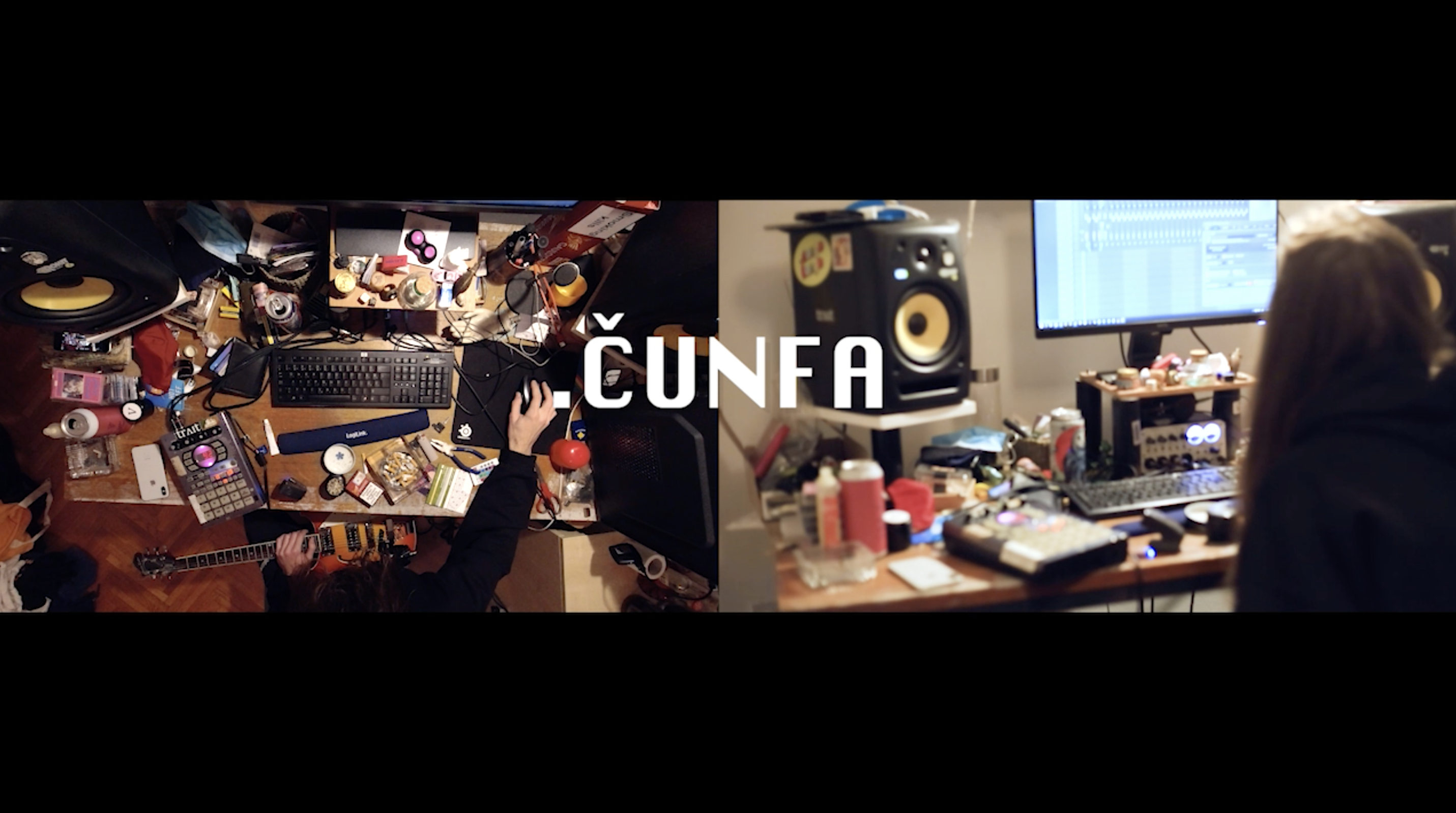 still shot from the room session with cunfa