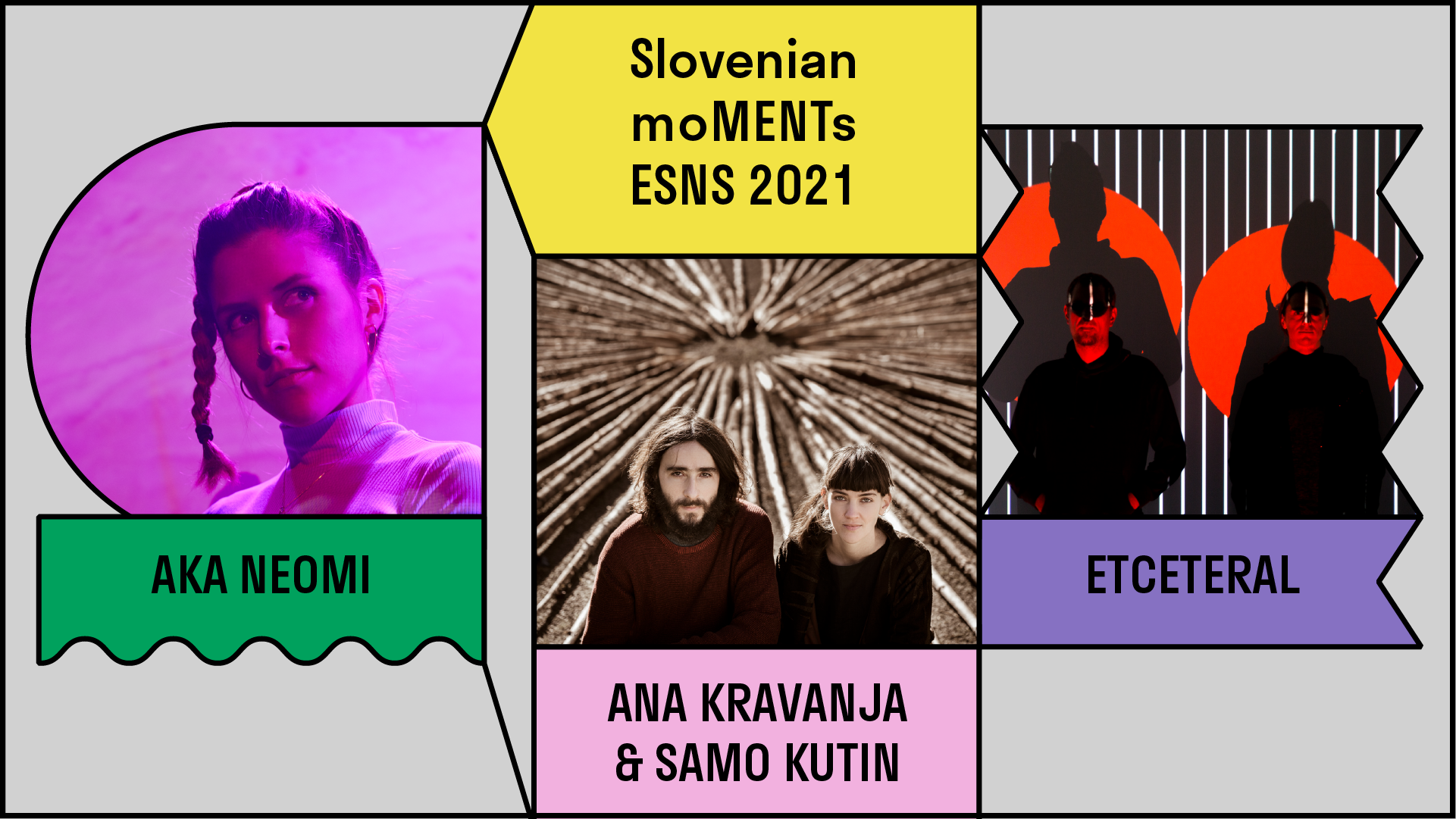 image for Slovenian artists playing at ESNS 2021