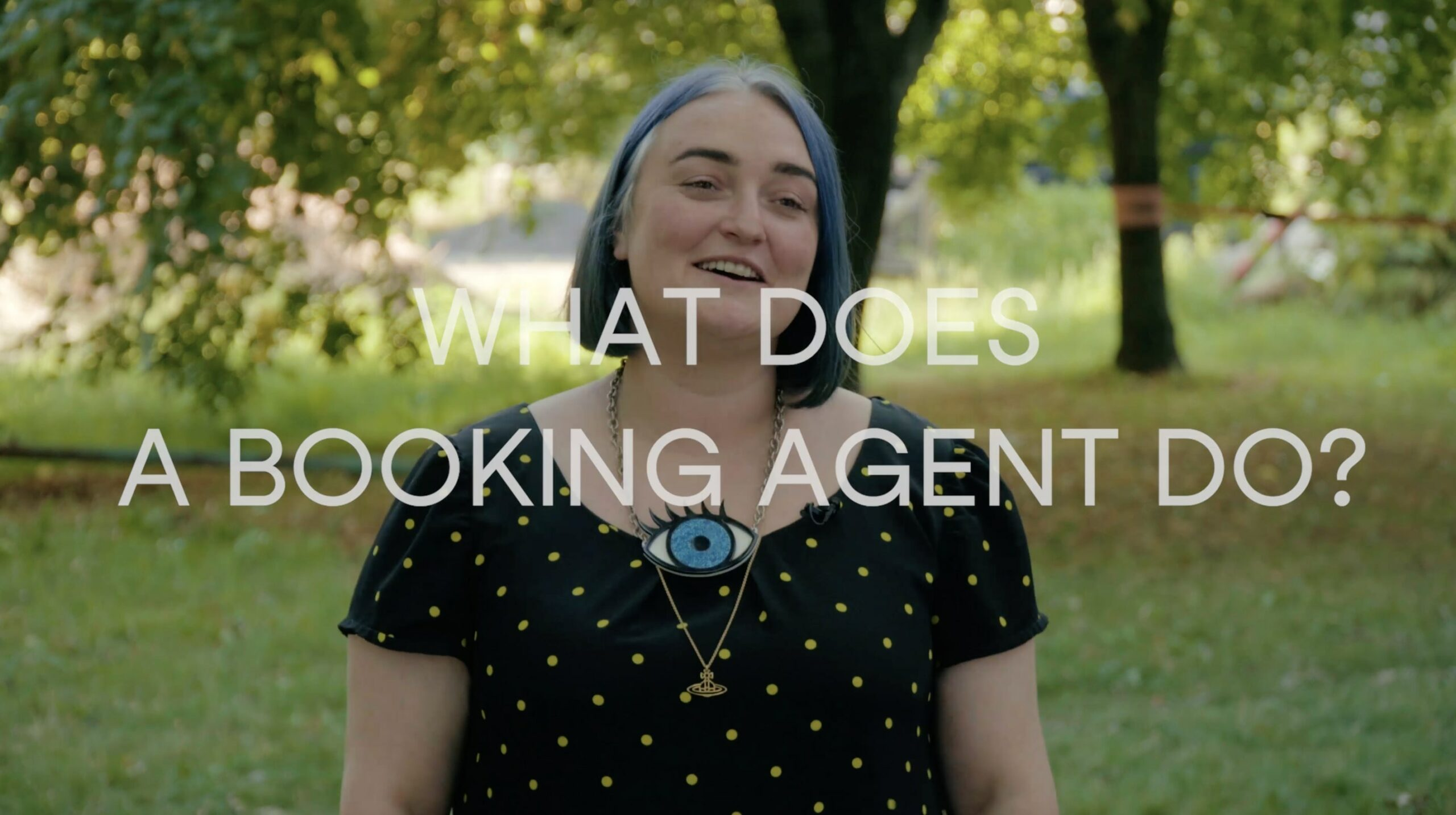 what does a booking agent do title